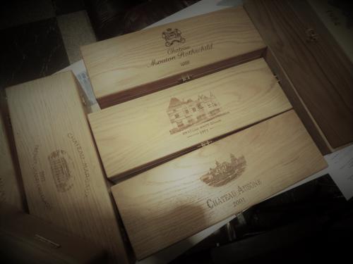 Гравировка коробок для коллекционного вина