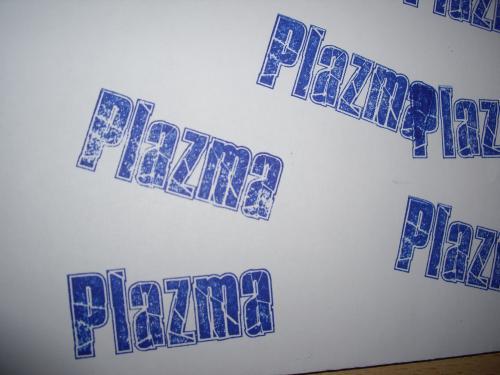 Изготовление штампа с логотипом