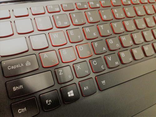 Лазерна гравіровка клавіатури