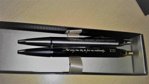 гравирование на ручке