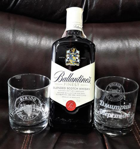 гравировка бокалов для виски