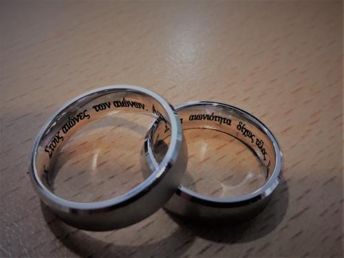 гравировка кольца
