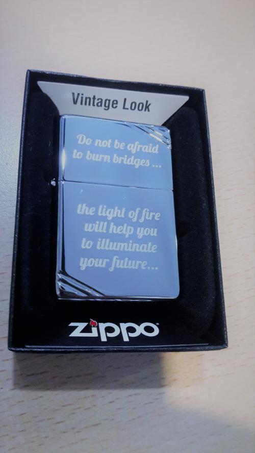гравировка zippo