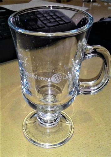 лазерная гравировка бокала для глинтвейна